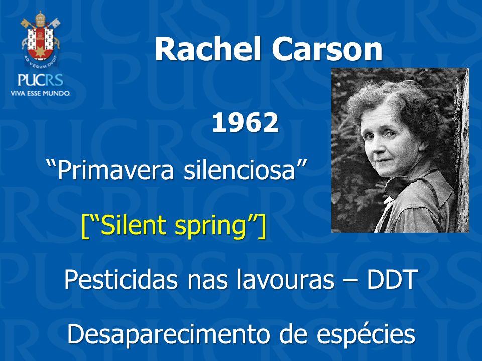 Primavera silenciosa [ Silent spring ] Pesticidas nas lavouras – DDT